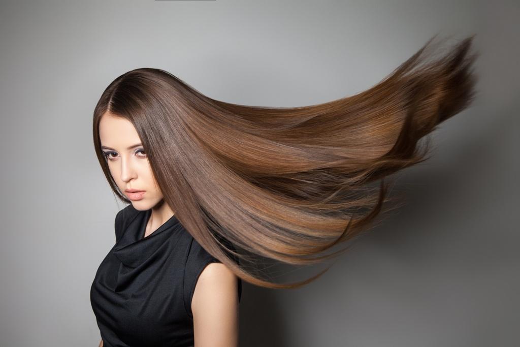 Piękne włosy po zabiegu olejowania