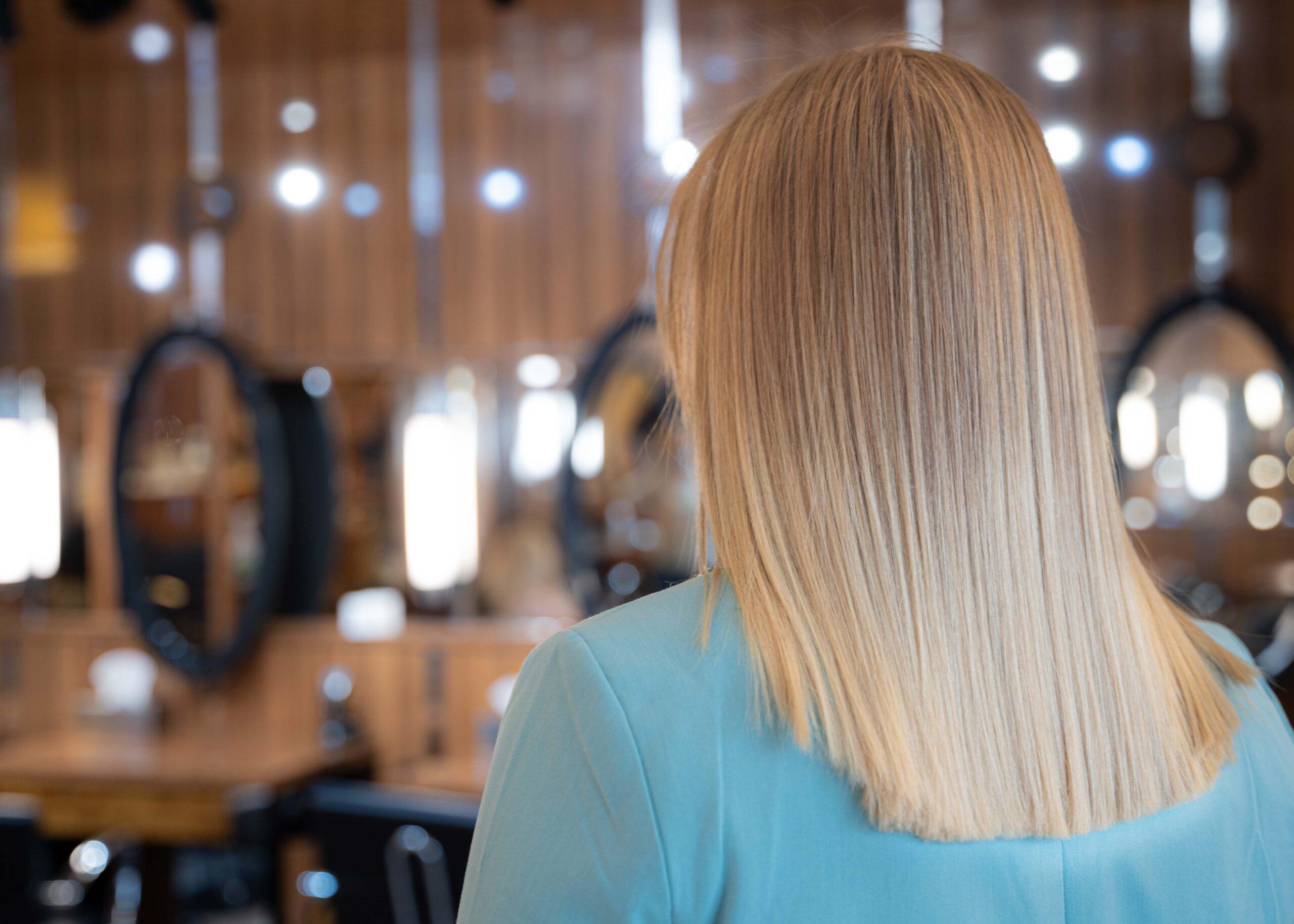 Włosy po keratynowym wygładzaniu