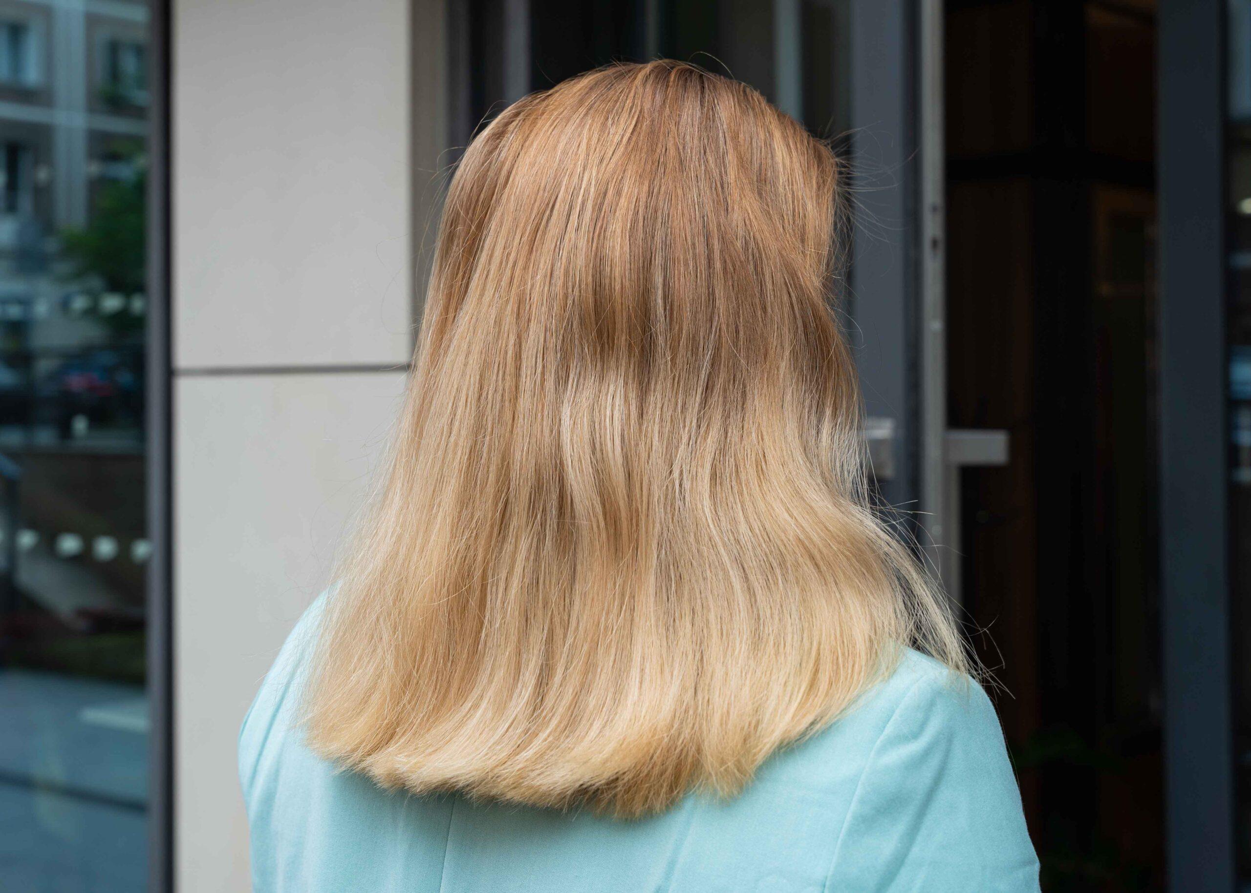 Włosy przed keratynowym prostowaniem
