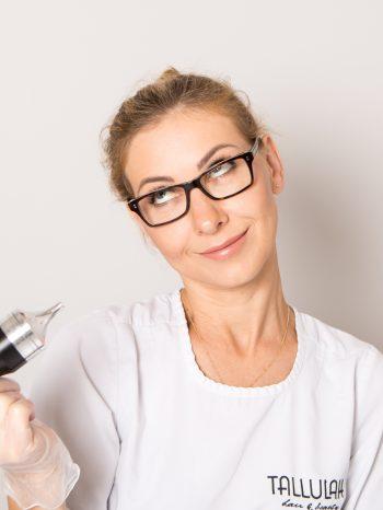 Najlepsza kosmetyczka w Warszawie - Ewa Guba w salonie Tallulah Hair & Beauty