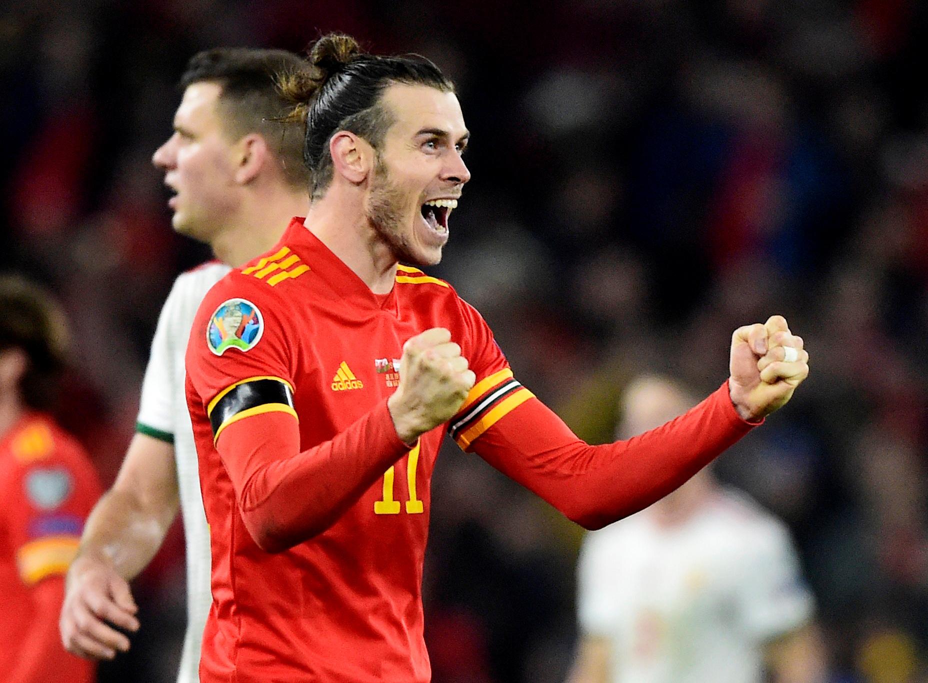 Gareth Bale na Euro 2020