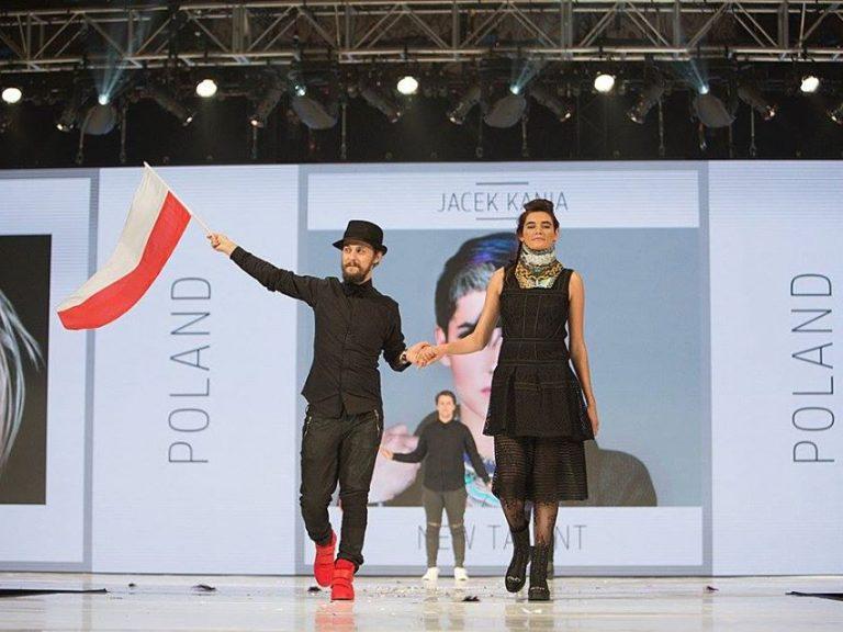 Krzysztof Kulesza reprezentuje Polskę na zagranicznym pokazie mody