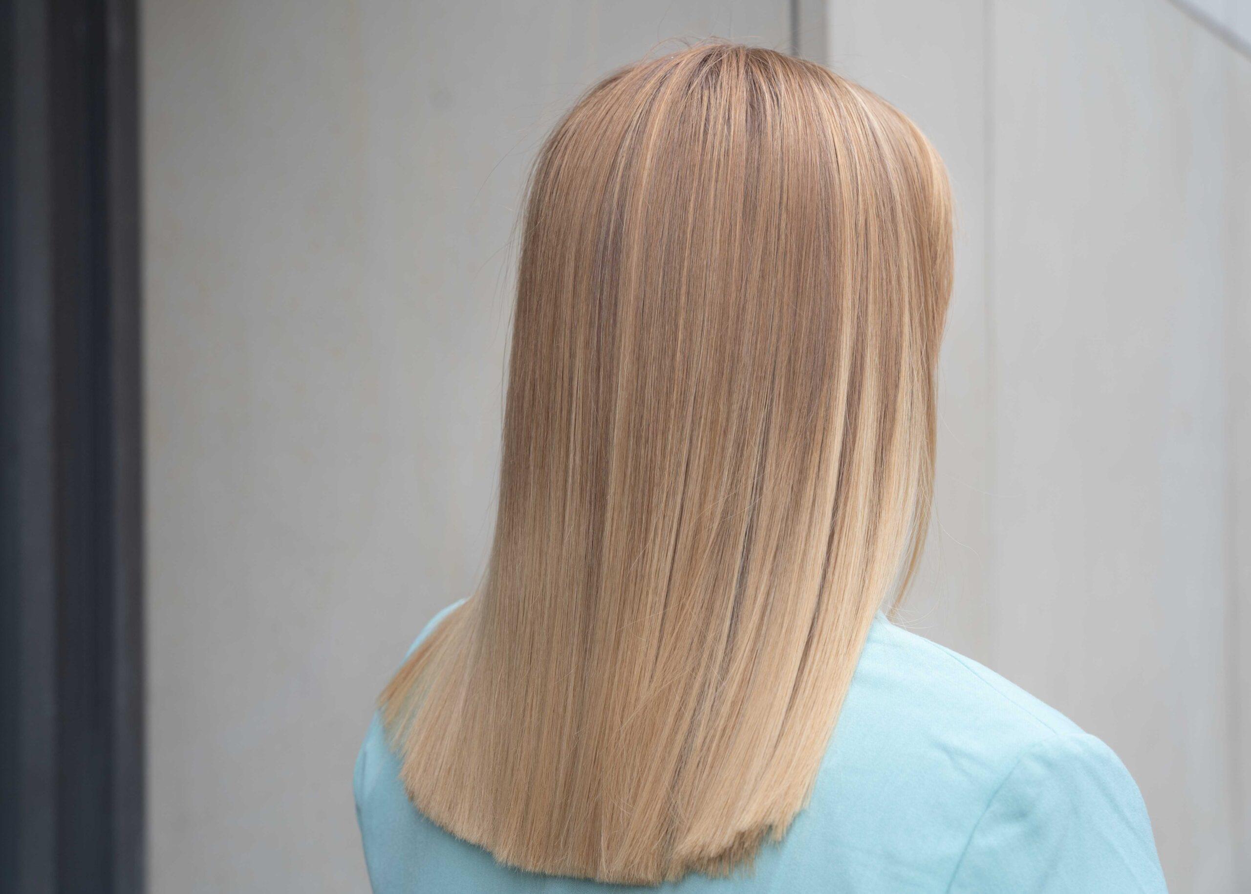 Włosy po keratynowym prostowaniu